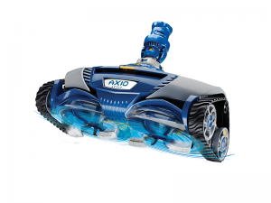 Swoop Pools Zodiac AX10 Activ Mechanical Suction Cleaner Features the exclusive cyclonic scrubbing action and comes equipped with sturdy brushes to provide the ultimate deep-cleaning experience. The active scrubbing removes algae and fine particles which other suction cleaners in its class leave behind.